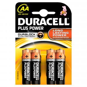 Batteri AA (LR6) 4-pack - Duracell Plus Power