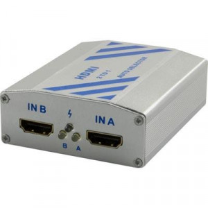HDMI Auto Selektor, 2xHDMI in ho - 1xHDMI ut.