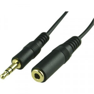 Audio kabel 1x3.5mm ha - 1x3.5mm ho (15m)