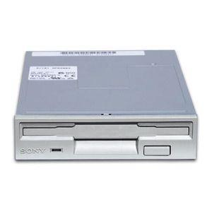 Diskettstation 3.5 Silver.