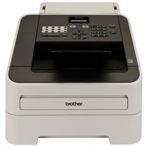Brother FAX-2840 Laser 33.6Kbit/s A4 Svart, Grå faxmaskiner