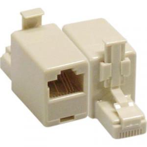 Korskopplingsadapter, gör en rak TP-kabel korsad