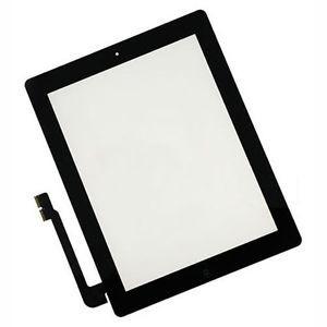 Glas iPad 3 / 4 - Svart (inkl Home-knapp)