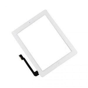 Glas iPad 3 / 4 - Vit (inkl Home-knapp)