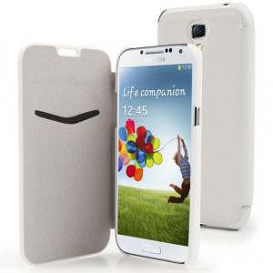 Fodral - Samsung Galaxy S4 - Muvit vit +Skärmskydd