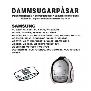 Dammsugarpåsar (5-pack) Samsung