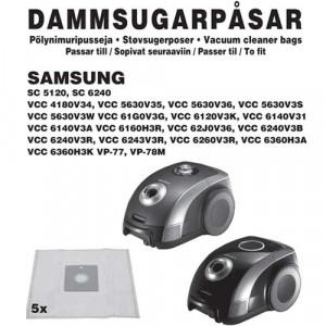 Dammpåsar (5-pack) Samsung