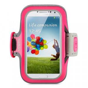Sportarmband - Samsung Galaxy S3/S4/S5 Belkin Slim Rosa F8M558BTC01