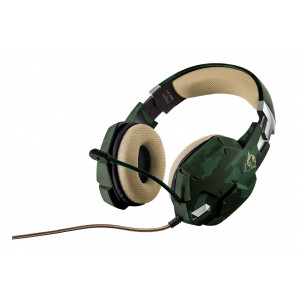 Headset - Trust GXT 322C Gaming Headset Kamo Green