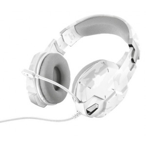 Headset - Trust GXT 322W Gaming Headset White