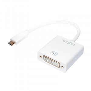 USB C till DVI adapter hane-hona