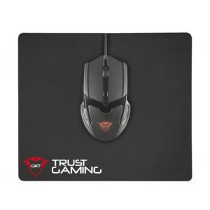 Mus + Musmatta - Trust GXT 782 Gaming Kit 4800dpi