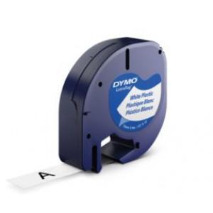 DYMO 12mm LetraTAG Plastic tape etikett-tejp