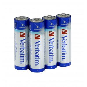 Batteri AA (LR6) 4-pack - Verbatim