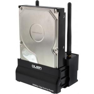 Hårddiskdockning via USB Wifi LAN Trådlöst Nätverk RJ45