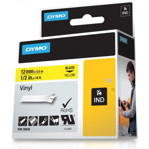 DYMO 12mm RHINO Coloured Vinyl D1