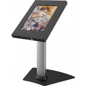 Bordstativ ARM-428 för iPad 2/3/4/Air, två nycklar, låshål, silv