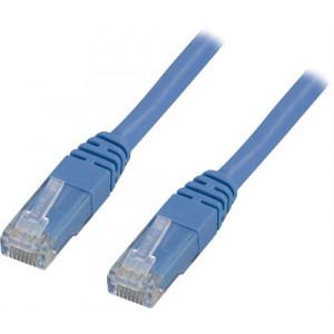Nätverkskabel Cat5e  (1m) UTP Blå