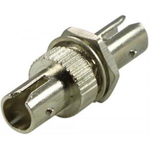 DELTACO skarvdon, fiber, ST-ST, singlemode, simplex, keramisk, metall