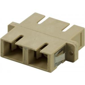 DELTACO skarvdon, fiber, SC-SC, multimode, duplex, keramisk, plast