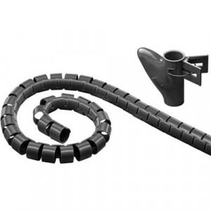 Kabelslukare LDR02 25mm, 2.5m svart