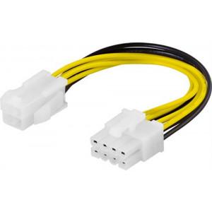 Adapter Ström 4-pin ATX12V - 8-pin EPS12V ho-ha