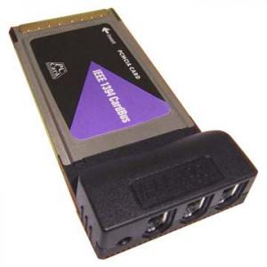 Firewire PCCard - FW400 6-pin x 3*