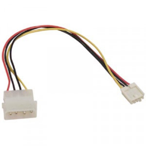 Adapter Ström 4-pin Molex - 4-pin 3.5""