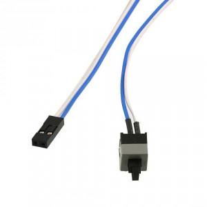 Startknapp/Resetknapp för ström inkl kabel till PC