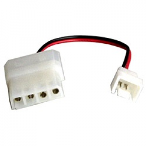 Adapter Ström 3-pin - 4-pin molex (ha-ha)