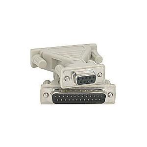 Adapter DB9 seriell - DB25 parallel (ho-ha).