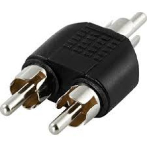 Adapter 1xRCA - 2xRCA (ha-ha)