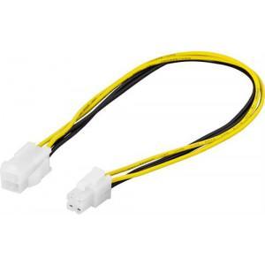 Förlängningskabel Ström 4-pin för ATX12V (30cm)