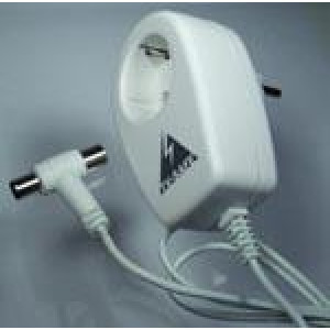 Överspänningsskydd för el och antenn.