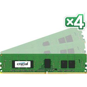 DDR4-2133 Crucial 16GB DDR4-2133 16GB DDR4 2133MHz ECC RAM-minnen