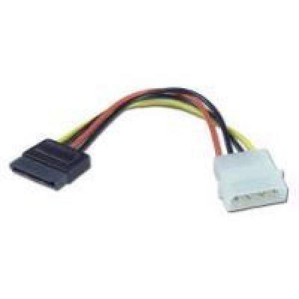 Kabel SATA-ström 4pin Molex - SATA (ha-ho)