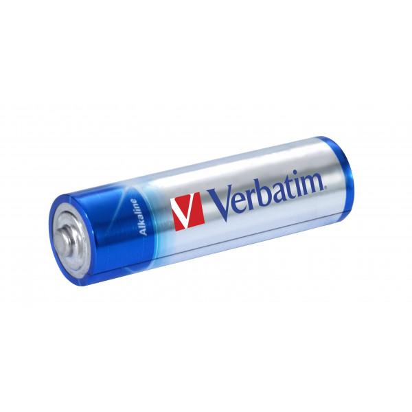 Verbatim 49921 Alkalisk 1.5V icke laddningsbara batterier
