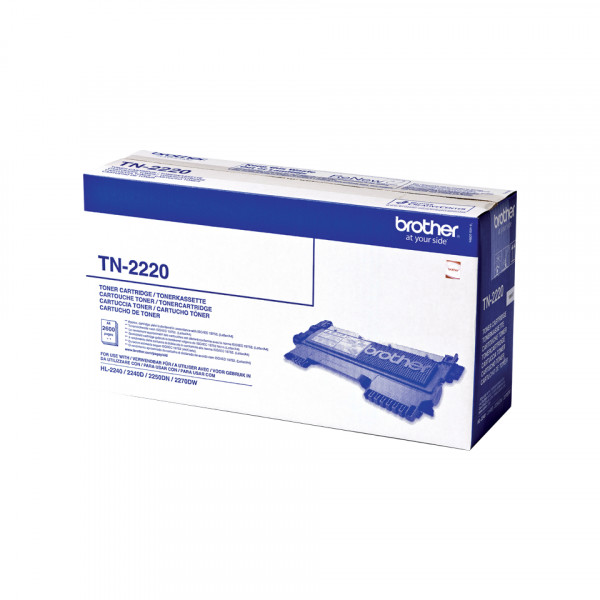 Brother Toner TN-2220 2600sid Black (Original)