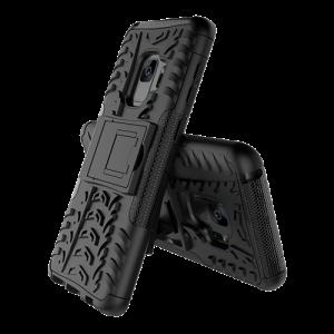 Dazzler Case till Galaxy S9, stötdämpande, utskärningar för värme, svart