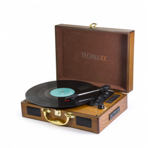 Technaxx Nostalgia Bluetooth record converter TX-101 brown