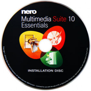 Nero Multimedia Suite 10 Essentials brännarprogram