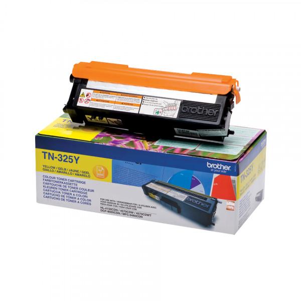 Brother TN-325Y Tonerkassett Laserpatron 3500 sidor Gul
