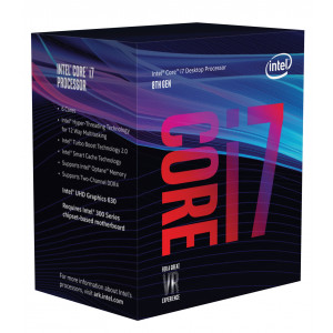 Processor - Intel S1151 Core i7-8700K 3.7GHz BOX