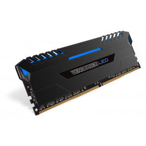 RAM Minne Corsair V 16GB DDR4 Blue LED 2x288, 3000MHz