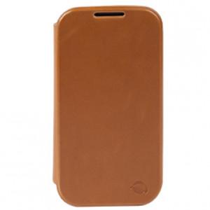 Fodral - Samsung Galaxy S5 - Krusell Kiruna brun.