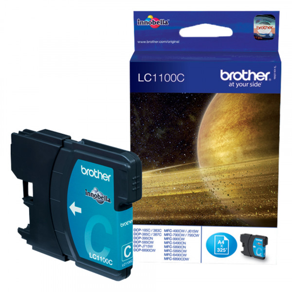 Brother LC1100C Cyan 325sid (Original)