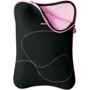 "Fodral 10-12"" - Port Designs Delhi Eco Svart/Rosa"