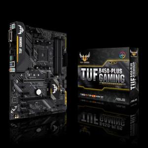 ASUS TUF B450-PLUS GAMING Socket AM4 AMD B450 ATX
