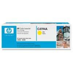HP Toner 640A C4194A Yellow Original.