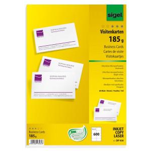 Visitkortspapper 185g 600st